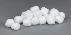 TIDI COTTON BALLS : 969164 CS                       $107.64 Stocked