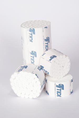 TIDI DENTAL COTTON ROLLS : 919121 BX $28.05 Stocked