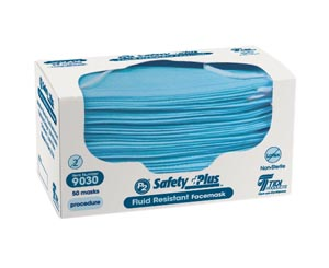 TIDI SAFETYPLUS™ FACEMASK : 9030 BX $5.09 Stocked