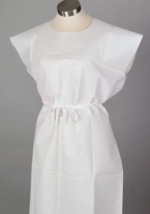 TIDI TISSUE POLY TISSUE PATIENT GOWN : 910420 CS $26.99 Stocked