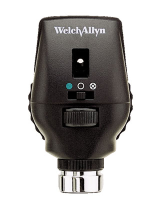 WELCH ALLYN HALOGEN COAXIAL OPHTHALMOSCOPE : 11720 EA $252.82 Stocked