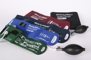 WELCH ALLYN REUSABLE FLEXIPORT CUFFS : REUSE-12-2BV EA                    $42.64 Stocked