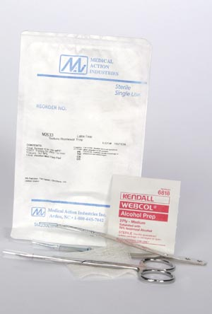 MEDICAL ACTION SUTURE REMOVAL KITS : M2633 KT $2.29 Stocked