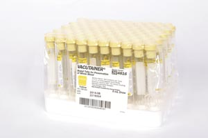 BD VACUTAINER ACD GLASS TUBES : 364816 BX   $77.26 Stocked