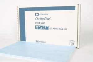 COVIDIEN/MEDICAL SUPPLIES CHEMOPLUS™ PREP MATS : CT0300-1 CS $156.09 Stocked