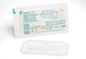 3M™ TEGADERM™ + PAD FILM DRESSING WITH NON-ADHERENT PAD : 3590 CS
