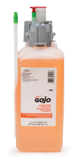 GOJO LUXURY FOAM HANDWASH : 8562-02 CS