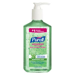 GOJO PURELL ADVANCED INSTANT HAND SANITIZER : 3639-12 CS