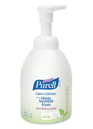 GOJO PURELL® GREEN CERTIFIED HAND SANITIZER : 5791-04 CS