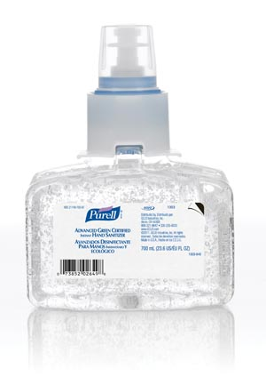 GOJO PURELL LTX-7 ADVANCED GREEN CERTIFIED INSTANT HAND SANITIZER : 1303-03 EA                       $10.22 Stocked