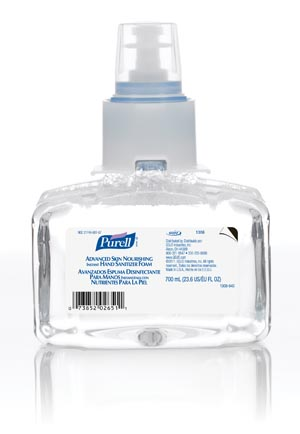 GOJO PURELL LTX-7™ ADVANCED INSTANT HAND SANITIZER : 1306-03 CS       $80.46 Stocked