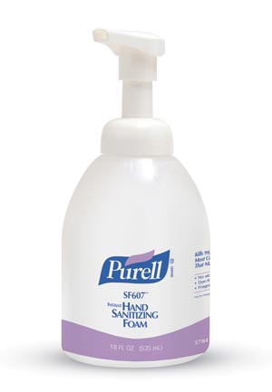 GOJO PURELL SF607™ INSTANT HAND SANITIZING FOAM : 5784-04 EA                       $19.19 Stocked