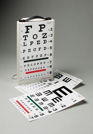 TECH-MED EYE CHARTS : 3060 EA       $125.45 Stocked