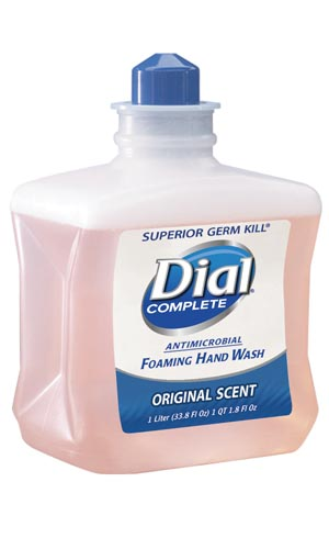 DIAL COMPLETE ANTIMICROBIAL FOAMING HAND SOAP : 00162 EA                $11.43 Stocked