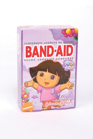 J&J BAND-AID DECORATED™ ADHESIVE BANDAGES : 004484 BX