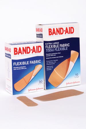 J&J BAND-AID FLEXIBLE FABRIC ADHESIVE BANDAGES : 004431 BX                     $4.28 Stocked