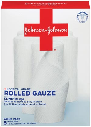 J&J KLING CONFORMING GAUZE BANDAGES : 005522 BX                       $10.18 Stocked