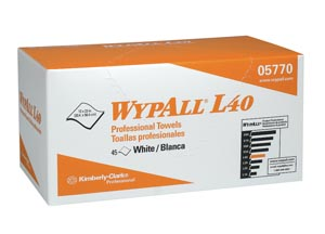 KIMBERLY-CLARK WYPALL WIPERS : 05770 BX $10.96 Stocked