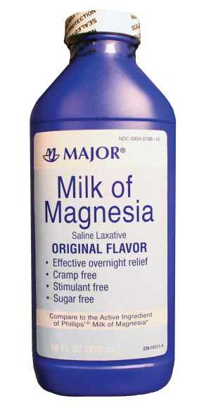 MAJOR ANTACID LIQUID : 002672 EA                       $2.29 Stocked