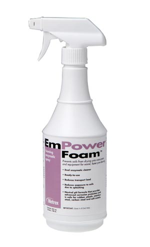 METREX EMPOWER™ FOAM FOAMING ENZYMATIC SPRAY : 10-4224 CS