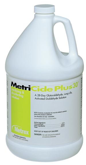 METREX METRICIDE PLUS 30 DISINFECTING SOLUTION : 10-3200 EA               $25.73 Stocked