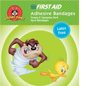 NUTRAMAX CHILDREN'S CHARACTER ADHESIVE BANDAGES : 1079797 BX $4.35 Stocked