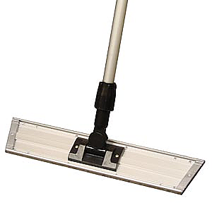 "PRO ADVANTAGE Aluminum Trapezoid Mop Frame, 5"" x 24"",  Compare to Newell Rubbermaid Brand FGQ57000"