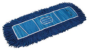 "PRO ADVANTAGE Twist Dust Mop, Blue, 5"" x 60""  Compare to Newell Rubbermaid Brand FGJ258"