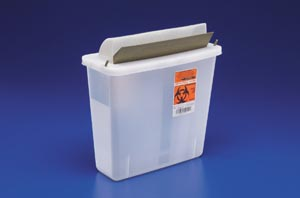 CARDINAL HEALTH IN-ROOM CONTAINERS WITH MAILBOX-STYLE LIDS : 85131 CS         $94.51 Stocked
