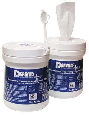 MYDENT DEFEND+PLUS DISINFECTING/DEODORIZING/ CLEANING WIPES : SO-9000 CS