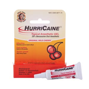 BEUTLICH HURRICAINE TOPICAL ANESTHETIC : 0283-0871-12 PK $71.11 Stocked