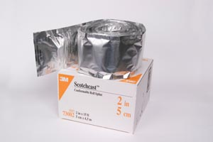 3M™ SCOTCHCAST™ CONFORMABLE ROLL SPLINT : 73002 CS                    $137.75 Stocked