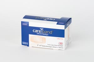 ASO CAREBAND SHEER ADHESIVE STRIP BANDAGES : CBD2016 BX                                                                                                                             $6368.82 Stocked