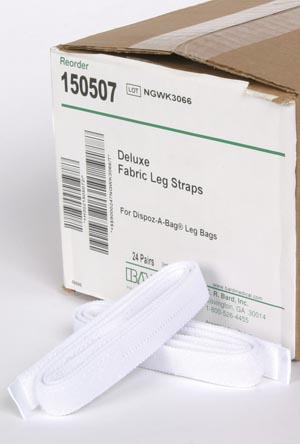 BARD LEG STRAPS : 150507 PR $3.23 Stocked