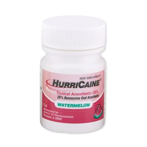 BEUTLICH HURRICAINE TOPICAL ANESTHETIC : 0283-0293-31 EA $8.45 Stocked