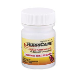 BEUTLICH HURRICAINE TOPICAL ANESTHETIC : 0283-0569-31 EA $8.45 Stocked