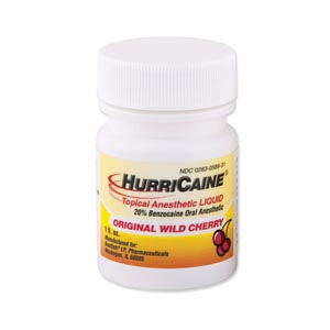 BEUTLICH HURRICAINE TOPICAL ANESTHETIC : 0283-0871-31 EA $8.45 Stocked