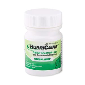 BEUTLICH HURRICAINE TOPICAL ANESTHETIC : 0283-0998-31 EA $8.45 Stocked