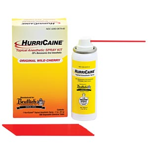 BEUTLICH HURRICAINE TOPICAL ANESTHETIC : 0283-0679-60 EA $41.71 Stocked