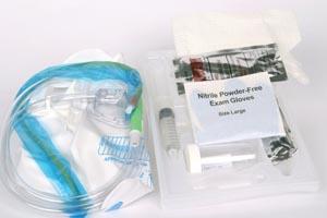 CARDINAL HEALTH FOLEY CATHETERIZATION TRAY WITH DRAIN BAG : 3716 TR                      $8.66 Stocked