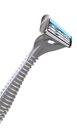 ACCUTEC PERSONNA FACE RAZOR : 75-0037 CS