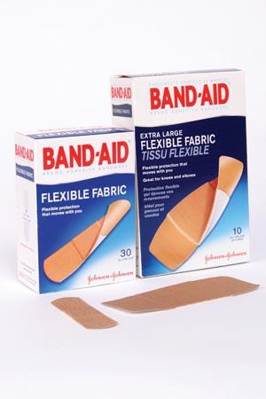J&J BAND-AID FLEXIBLE FABRIC ADHESIVE BANDAGES : 004431 BX $3.84 Stocked